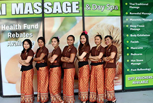 The Siam Thai Massage Team